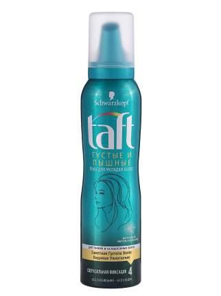 Пена для укладки TAFT Густые и Пышные, для тонких и ослабленных волос