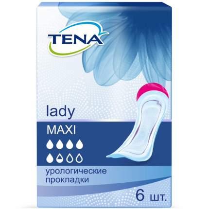 Прокладки Tena Lady Maxi 6 шт