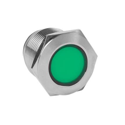 Лампа зеленая сигнальная S-Pro67 19 мм 230В EKF PROxima