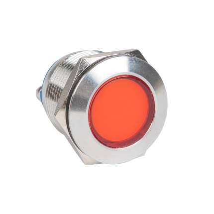 Лампа красная сигнальная S-Pro67 19 мм 24В EKF PROxima