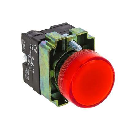 Лампа сигнальная BV64 красная EKF 24В EKF PROxima