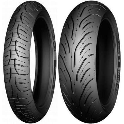 Мотошина Michelin Pilot Road 4 120/70 ZR17 58W TL Передняя (Front)