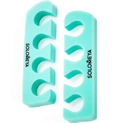 Разделители Solomeya Pedicure Toe Separators Mint для Педикюра Свежая Мята, 1 пара