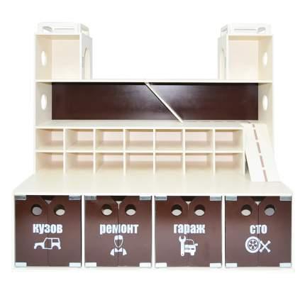 Система хранения Парковка, цвет венге-бежевый PAREMO PRT620-04