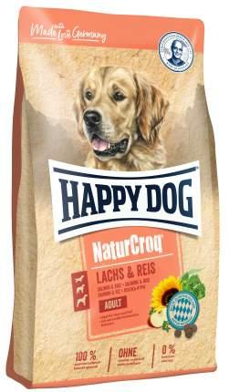 Сухой корм для собак Happy Dog NaturCroq Adult, все породы, с лососем и рисом, 12кг