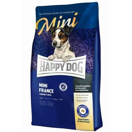Сухой корм для собак Happy Dog Supreme Mini France, для мелких пород, утка, картофель, 1кг