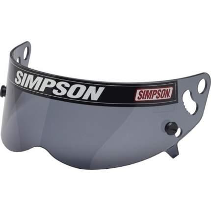 Визор для шлема BANDIT/SUPER BANDIT, дымчатый Simpson 89401A