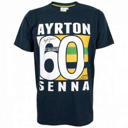 Футболка Ayrton Senna Brasil 60 р-р S Racing Legends AS-16-118_S