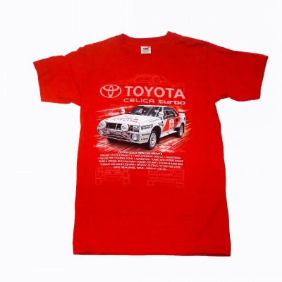 MB Toyota Celica футболка, красный, р-р 116 см. MB 02-7941-40-116
