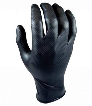 Перчатки для механиков Grippaz, чёрный, р-р L, 50 штук QSP QGR-B-L