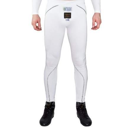 Штаны/кальсоны для автоспорта FIA, белый, р-р M P1 Racewear AA047MWM