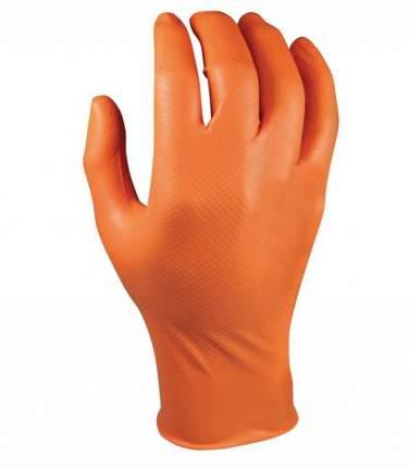 Перчатки для механиков Grippaz, оранжевый, р-р XL, 50 штук QSP QGR-O-XL