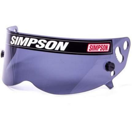 Визор для шлема XBANDIT, DIAMONDBACK, RX, дымчатый Simpson 1021-12
