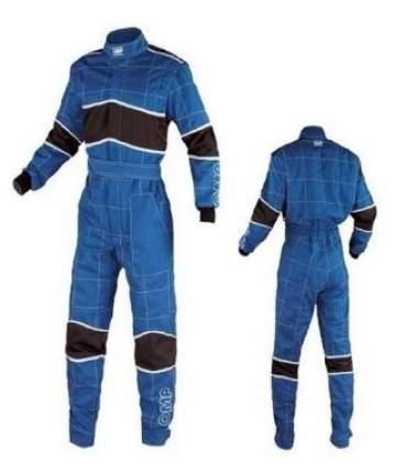 Комбинезон механика BLAST 2, синий/черный/белый, р-р 44 OMP Racing NB1576E04144