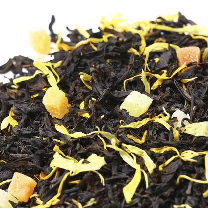 Черный чай Дыня со сливками, 100 г