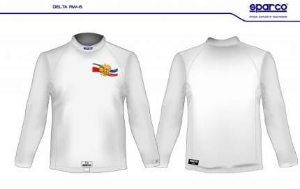 Майка/футболка (FIA) DELTA RW-6 с гербом России, белый, р-р M/L Sparco 001770MBI3MLR