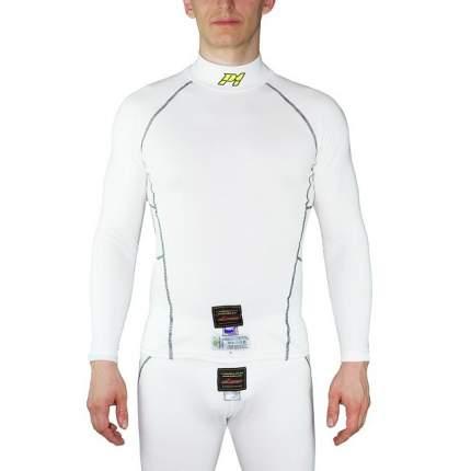 Майка/футболка для автоспорта Modacrylic slim fit, FIA, белый, р-р M P1 Racewear AA037MWM