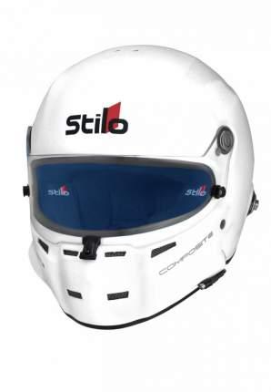 Шлем закрытый ST5F COMPOSITE,встроенный микрофон,HANS,FIA,белый,63 Stilo AA0700CG2M630102