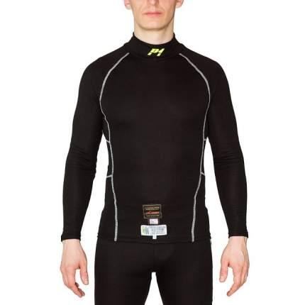 Майка/футболка для автоспорта Modacrylic slim fit, FIA, чёрный, р-р M P1 Racewear AA037MBM