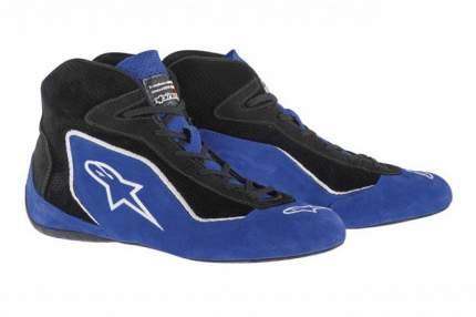 Обувь для автоспорта (FIA) SP, синий/черный, 42,5 (9,5) Alpinestars 2710515_71_9,5