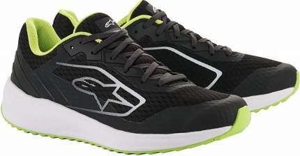 Ботинки повседневные META ROAD RUNNING,чёрный/белый/зелёный,43 (10) Alpinestars 2654520_16