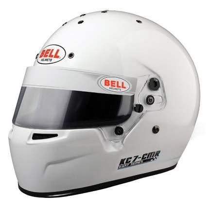 Шлем для картинга KC7-CMR (CIK, CMR2016), белый, р-р 58 BELL 1311007