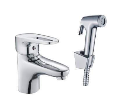 Смеситель с гигиеническим душем Haiba HB1268