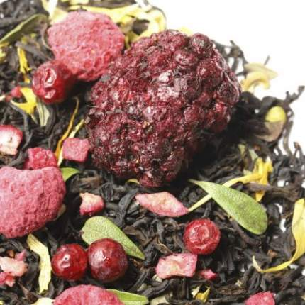 Черный чай Лесные ягоды (премиум), 100 г