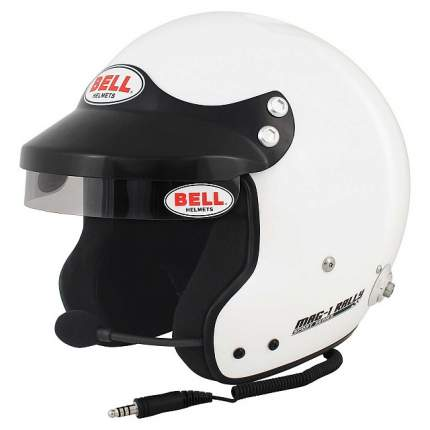 Шлем для автоспорта открытый MAG-1 RALLY, FIA8859, белый, р-р LRG (60-61) BELL 1426063