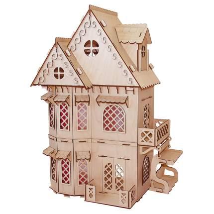 Кукольный домик серия Я дизайнер Дом принцессы, конструктор PAREMO PD218-09