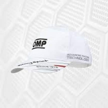 Кепка детская, белый OMP Racing PR918C020