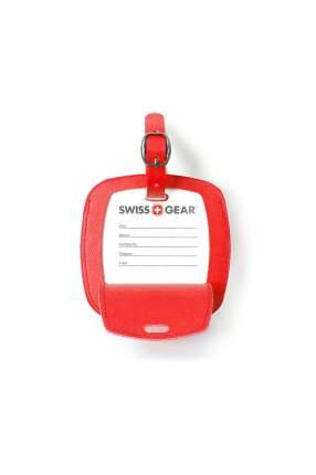 Бирка для багажа SWISSGEAR WJ3190red красная