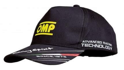 Кепка детская, черный OMP Racing PR918C071