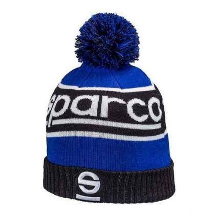 Шапка вязаная WINDY, синяя Sparco 01232BMAZ