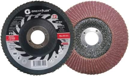 Круг лепестковый торцевой GREATFLEX Р80 71-12580