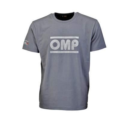 ФутболкаФутболка серый размер S OMP Racing OR5904080S