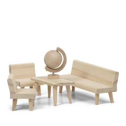 Набор деревянной мебели для домика Lundby Гостиная LB_60906100