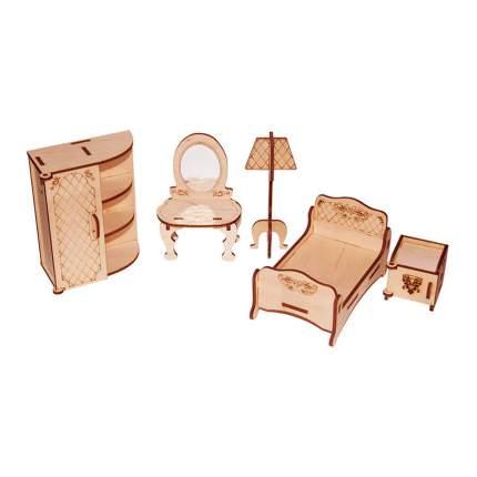 Мебель для кукол Спальня, конструктор PAREMO PDA420-02