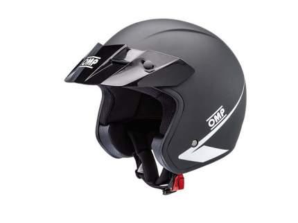 Шлем STAR открытый, чёрный, р-р S OMP Racing SC607E170S