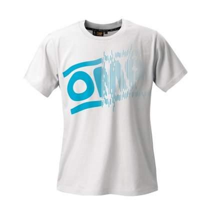 """Футболка """"STRIPED LOGO"""", белый, р-р S OMP Racing OR5918020S"""