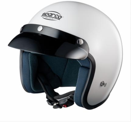 Шлем открытый (ECE-05) CLUB J1, белый, р-р L Sparco 0033173L