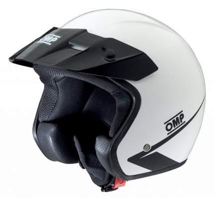 Шлем STAR MY2017 открытый, белый, р-р S OMP Racing SC607E020S