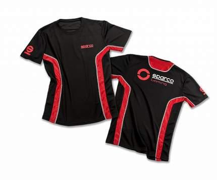 Игровая футболка GT-VENT, чёрный/красный, L Sparco 01233NRRS3L