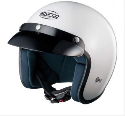 Шлем открытый (ECE-05) CLUB J1, белый, р-р XS Sparco 0033170XS