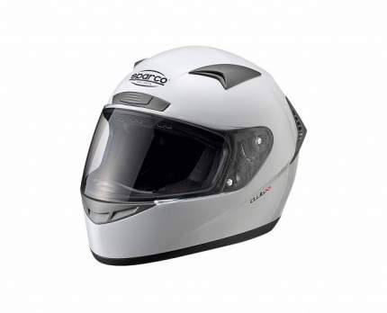 Шлем закрытый (ECE-05) CLUB X1, белый, р-р XL Sparco 0033194XL