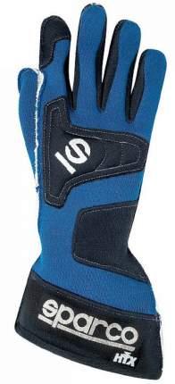 Перчатки (FIA) TIDE VULCANO, синий, р-р 08 Sparco 001351NV08AZ