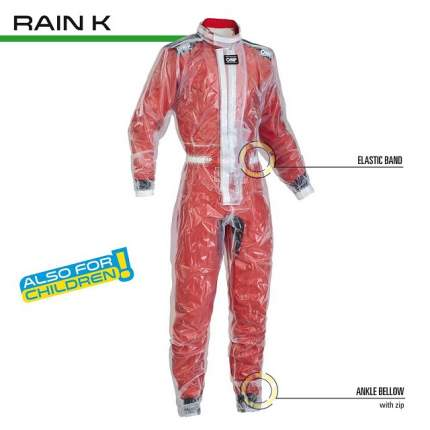 Комбинезон детский RAIN K, р-р 130/140 OMP Racing KK03102004XXXS