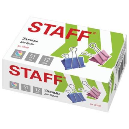 Зажимы для бумаг STAFF 225160 12 шт