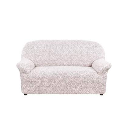 Чехол на диван Еврочехол бежевый