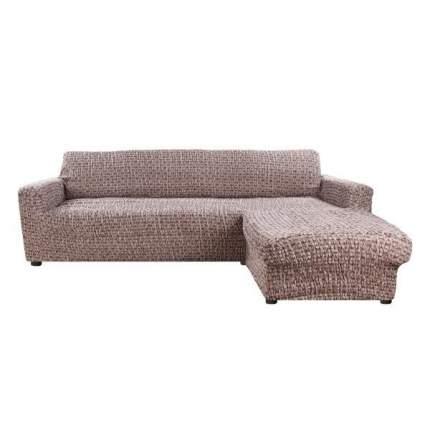 Чехол на диван Еврочехол коричневый